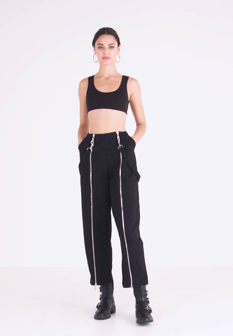 The Ragged Priest - MISTAKE PANT - Flared jeans - black - 1