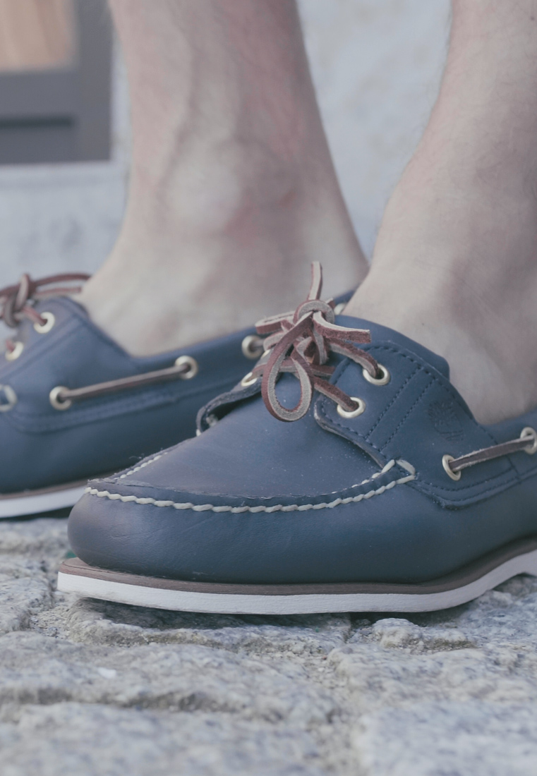 Timberland - CLASSIC - Boat shoes - blue - 1