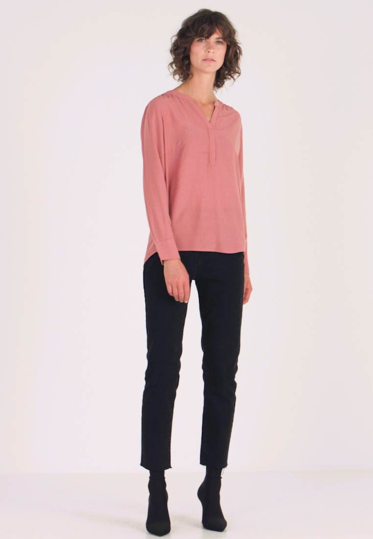 TOM TAILOR - BLOUSE STRUCTURED - Camicetta - vintage rose - 1