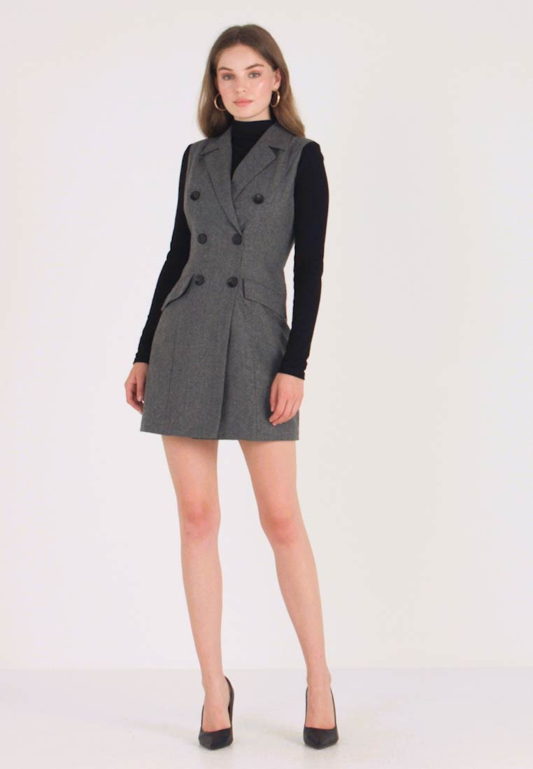UNIQUE 21 - Shirt dress - marl - 1