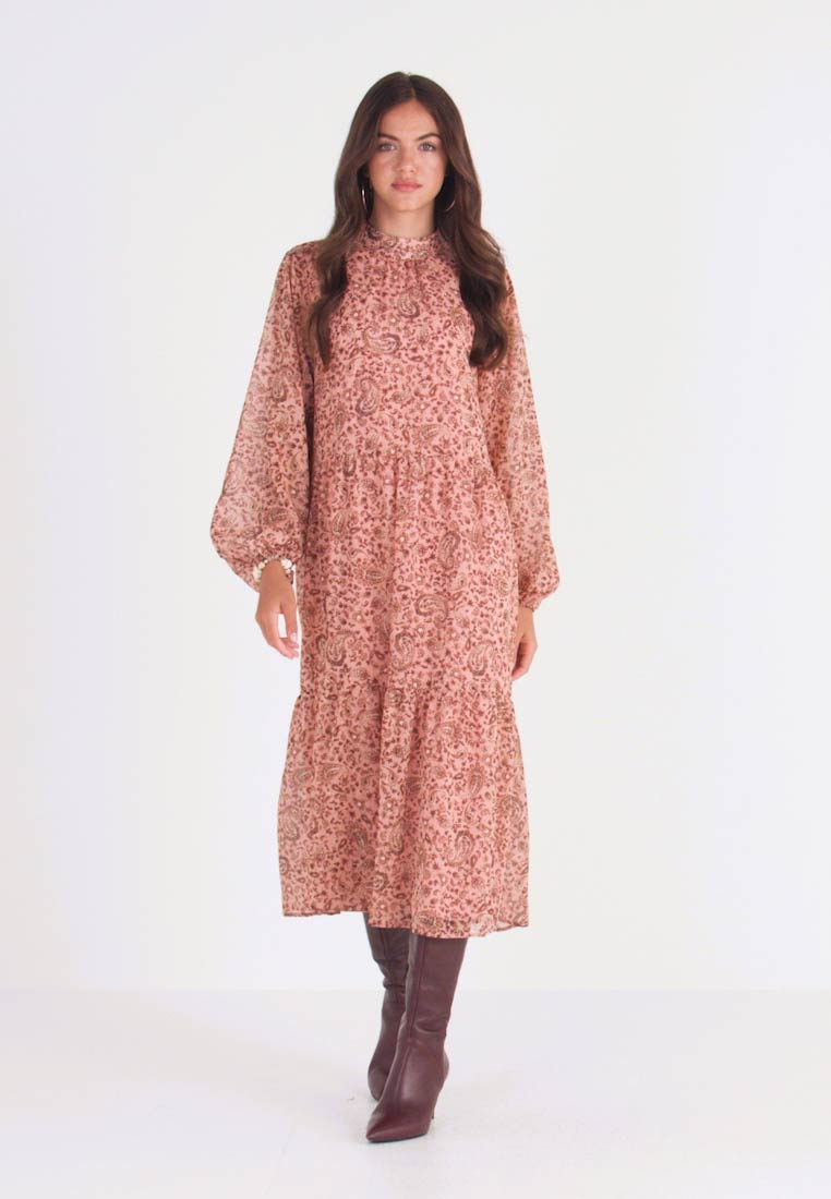 Vila - VIMEDOVA ANKLE DRESS - Maxi dress - rose smoke - 1