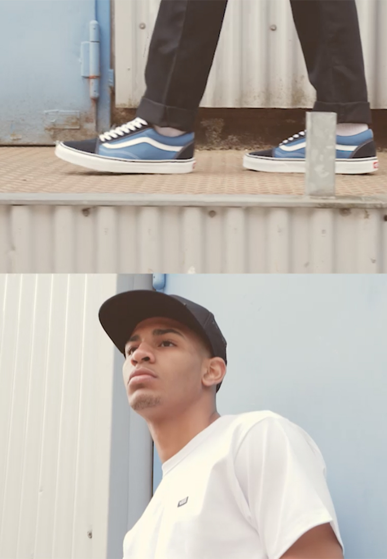 Vans - OLD SKOOL - Skateschoenen - navy - 1