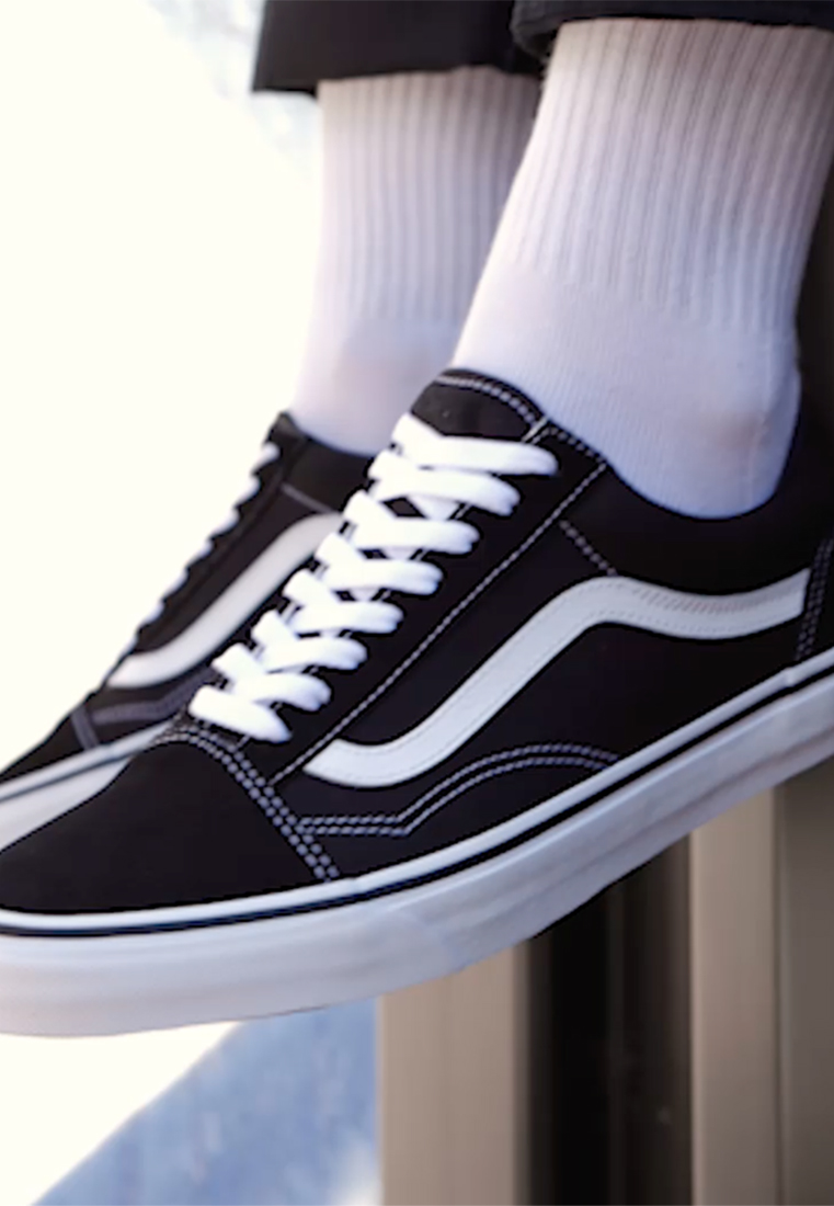 Vans - OLD SKOOL - Skateskor - black - 1