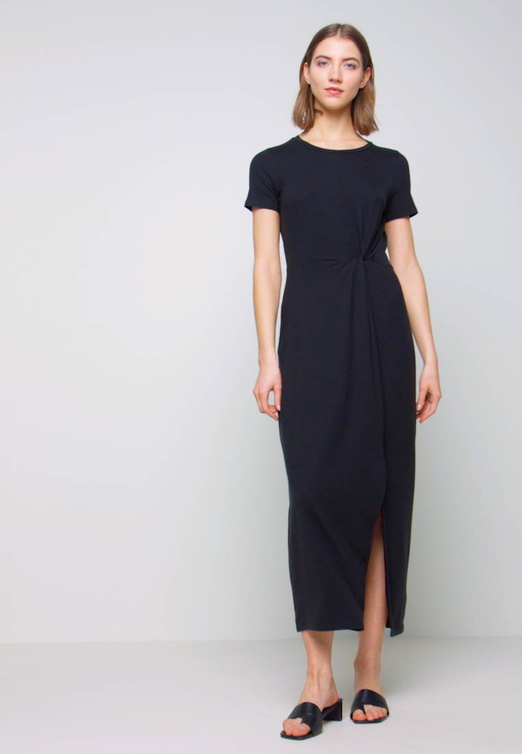 Vero Moda - VMAVA LULU ANCLE DRESS - Maxikjole - black - 1
