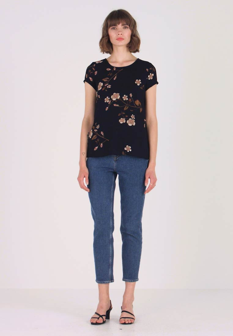 Vero Moda - VMCALLIE BOCA - Blouse - black - 1