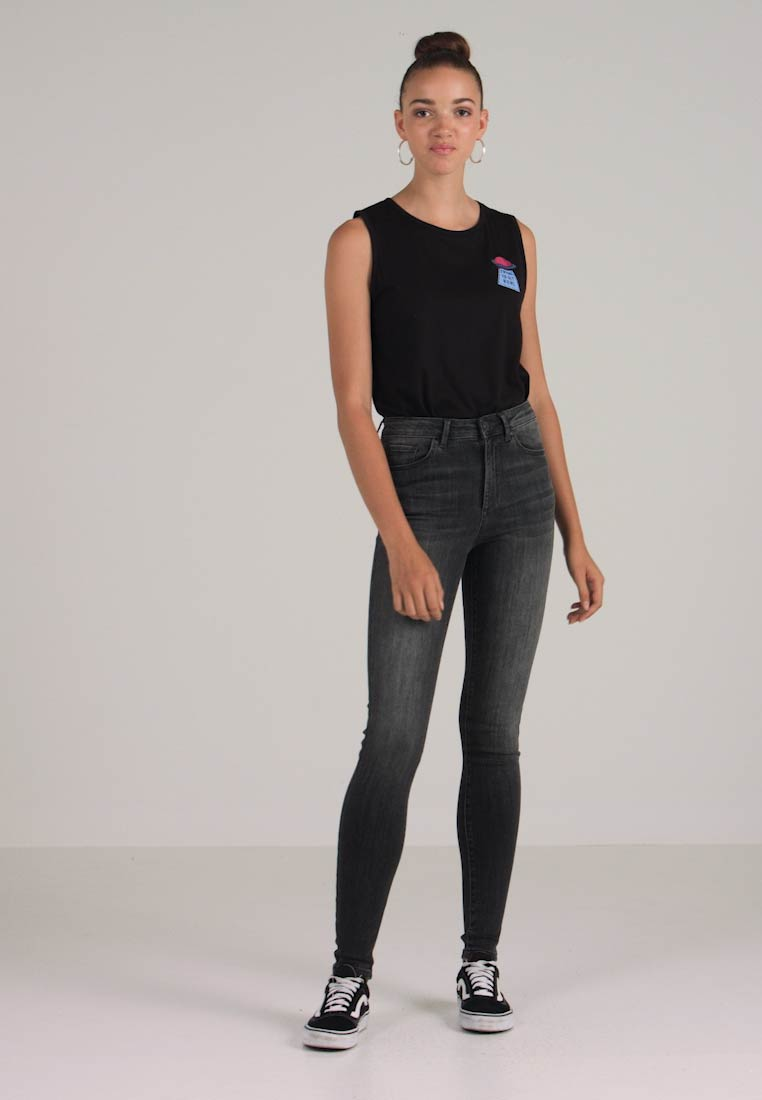 Vero Moda - VMSOPHIA  - Jeans Skinny Fit - dark grey denim - 1