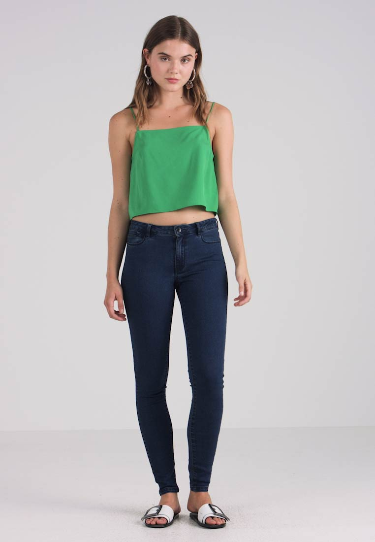 Vero Moda - VMJULIA FLEX IT - Jeans Skinny Fit - dark blue denim - 1