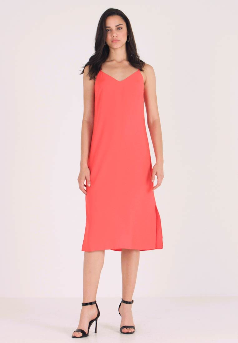 Warehouse - CAMI DRESS - Day dress - orange - 1