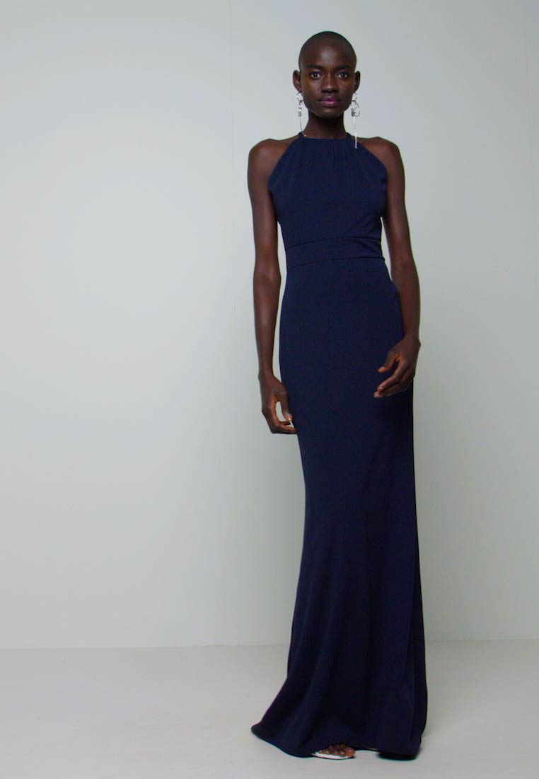 WAL G TALL - TALL MAXI HALTER NECK DRESS - Denní šaty - navy - 1