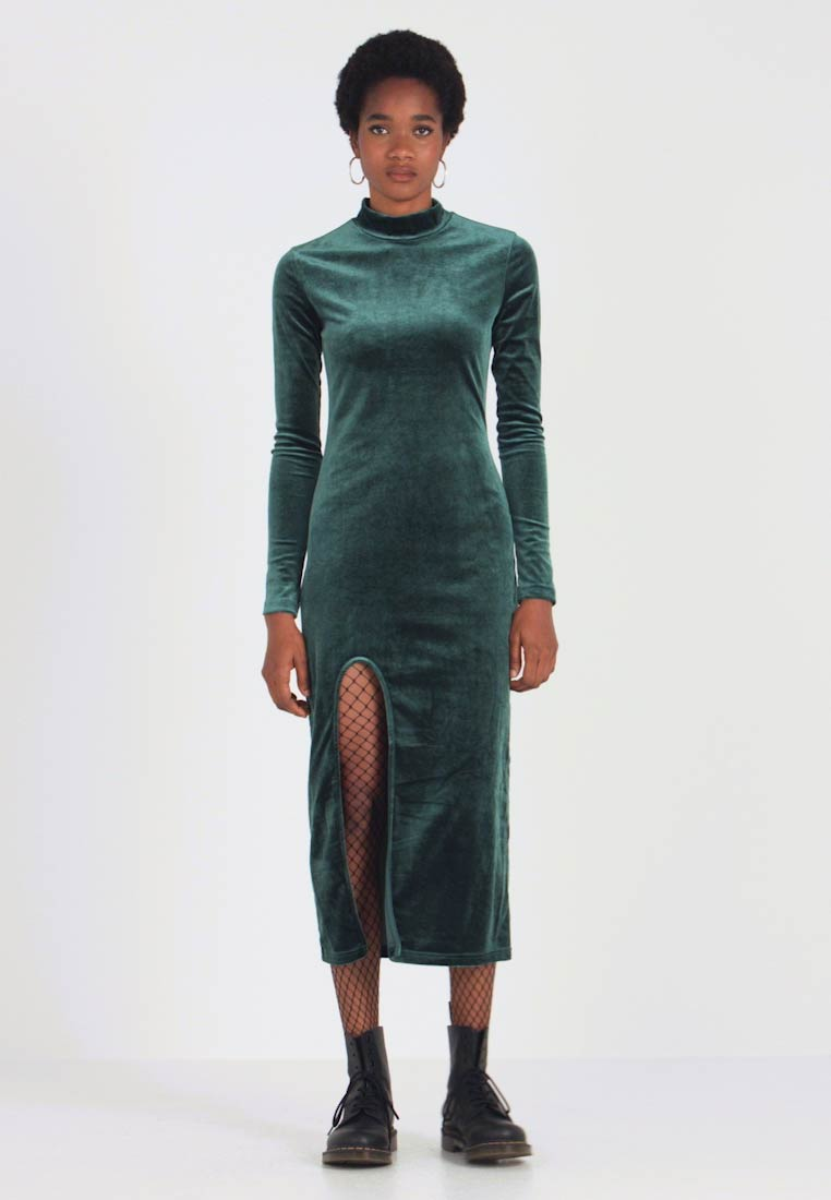 Weekday - BONITA DRESS - Kjole - dark green - 1