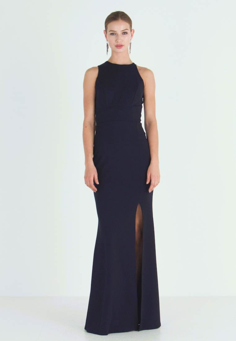 WAL G. - HIGH SPLIT MAXI DRESS - Gallakjole - navy - 1