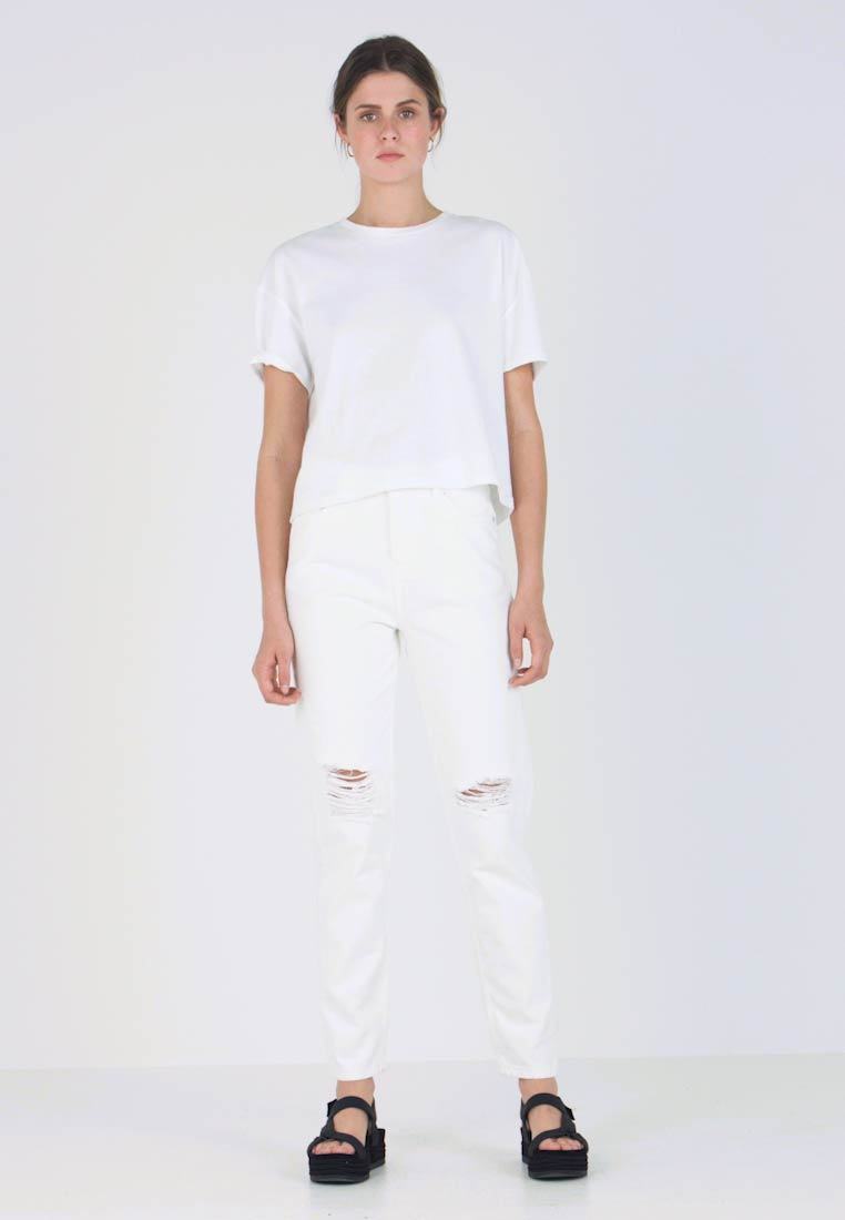 WHY7 - DANA MOM - Jeans Relaxed Fit - white - 1
