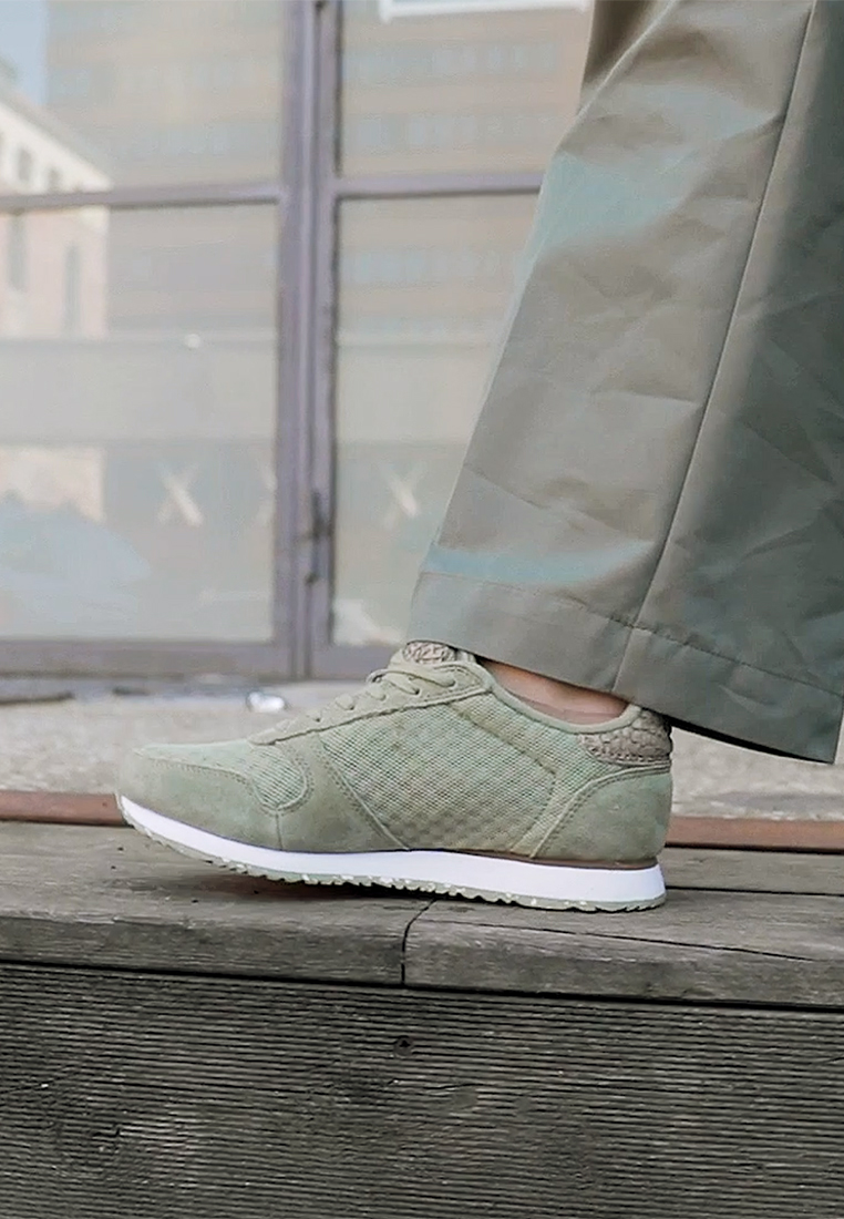 Woden - YDUN - Trainers - dusty olive - 1