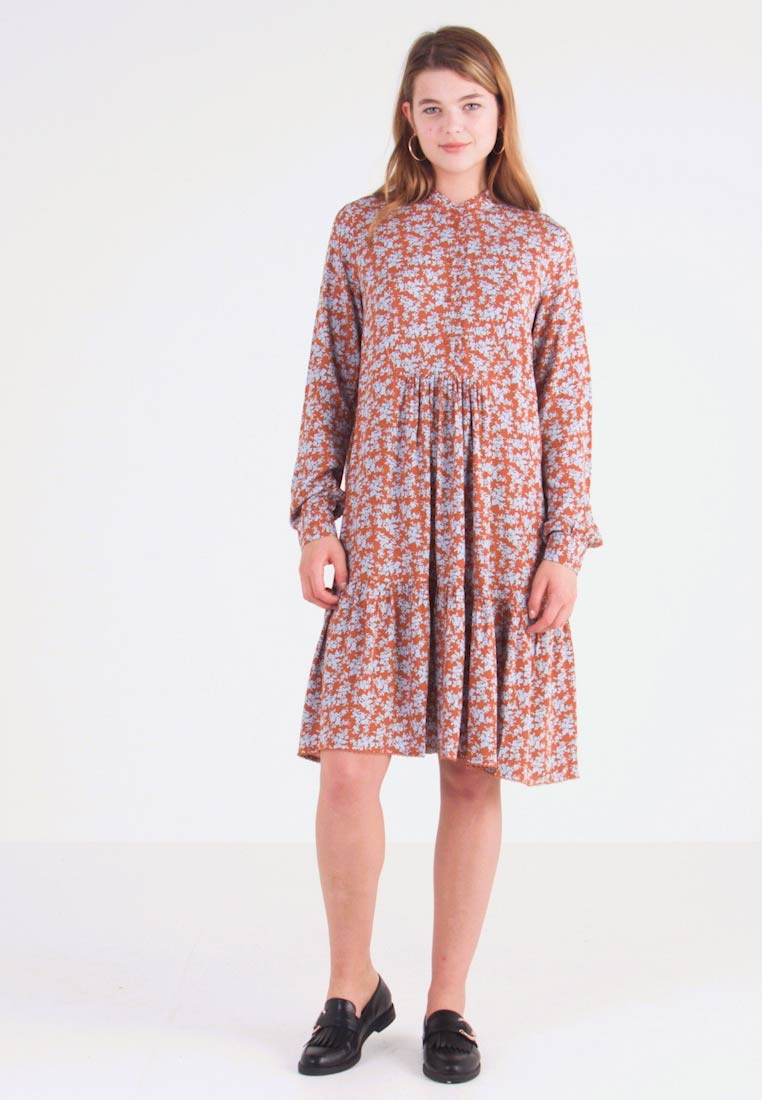 YAS - YASCARLA  - Shirt dress - bombay brown - 1