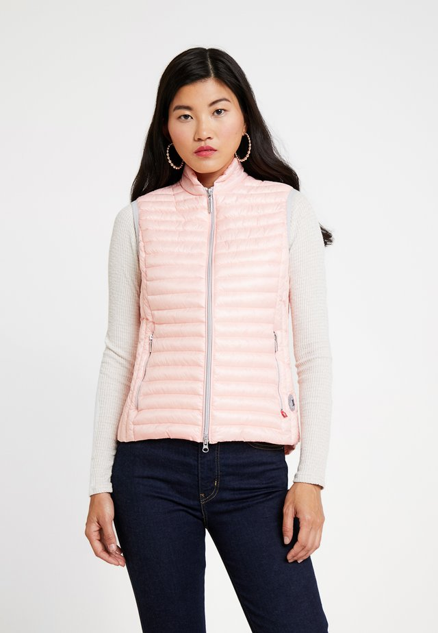 VEST - Veste sans manches - rose diamond