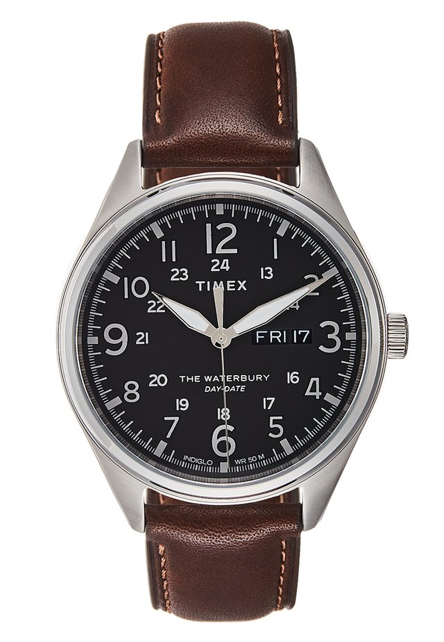 WATERBURY TRADITIONAL - Uhr - brown/silver-coloured/black