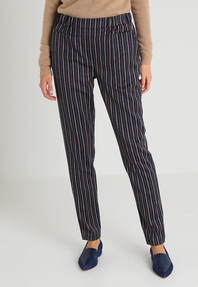 JOY NANCI PANTS - Trousers - midnight marine