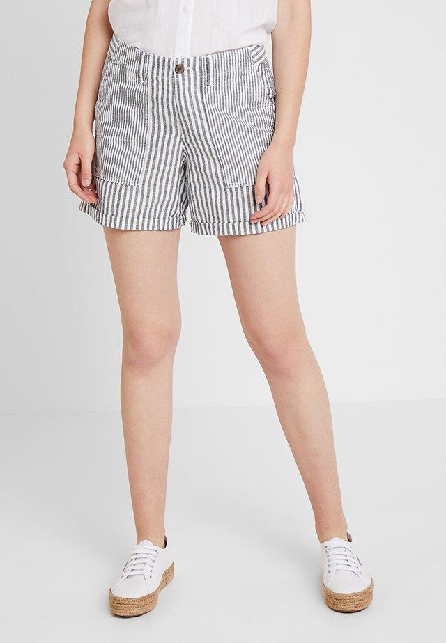 UTILITY STRIPE - Shorts - blue