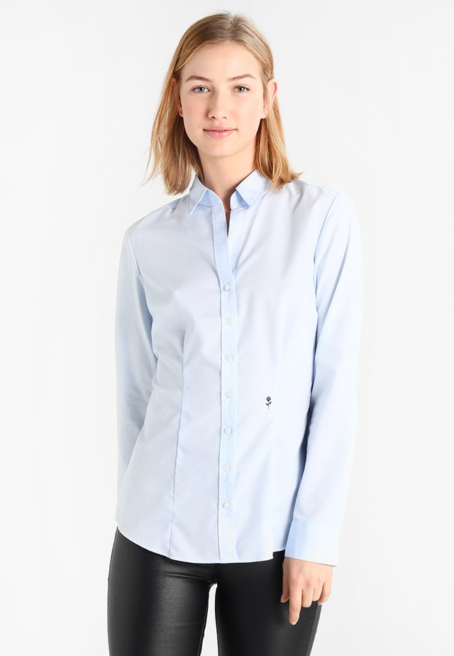 SCHWARZE ROSE - Koszula - dark blue