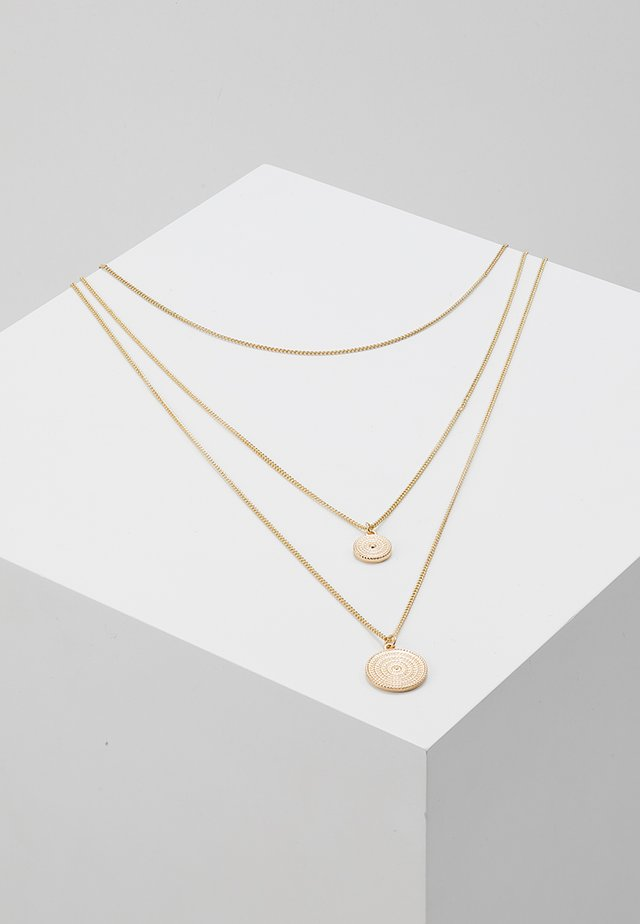 PCMACIE COMBI NECKLACE KEY - Collier - gold-coloured