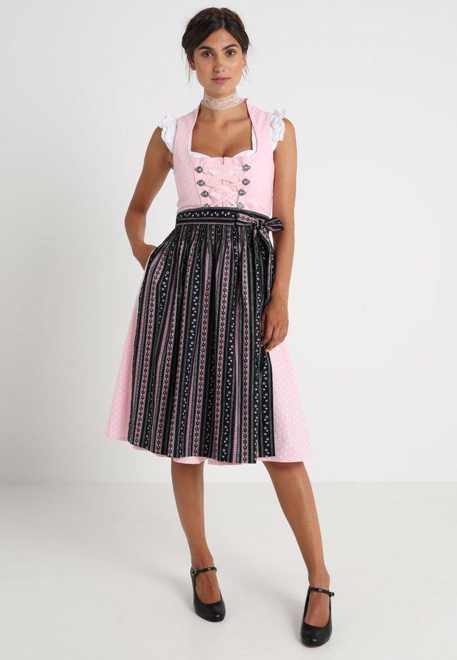 FARIBA - Dirndl - rosa/schwarz