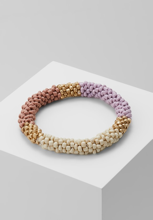 ONLLAYA  ROOLON BRACELET  - Armbånd - orchid bloom blush/ gold-coloured