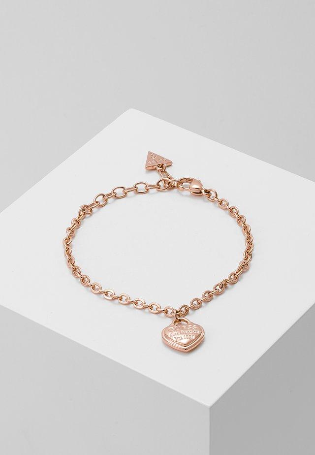 FOLLOW MY CHARM - Armband - rose gold-coloured