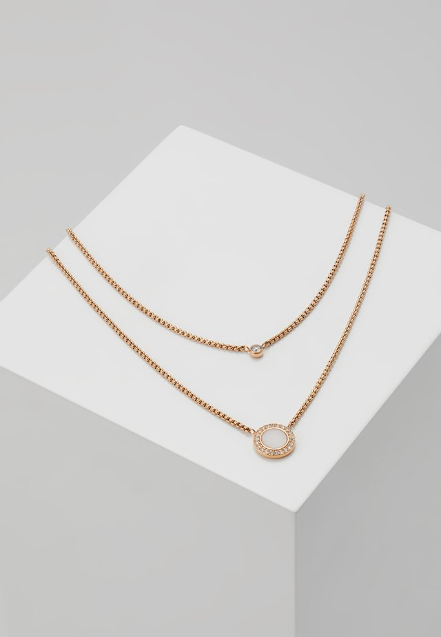 CLASSICS - Collier - roségold-coloured