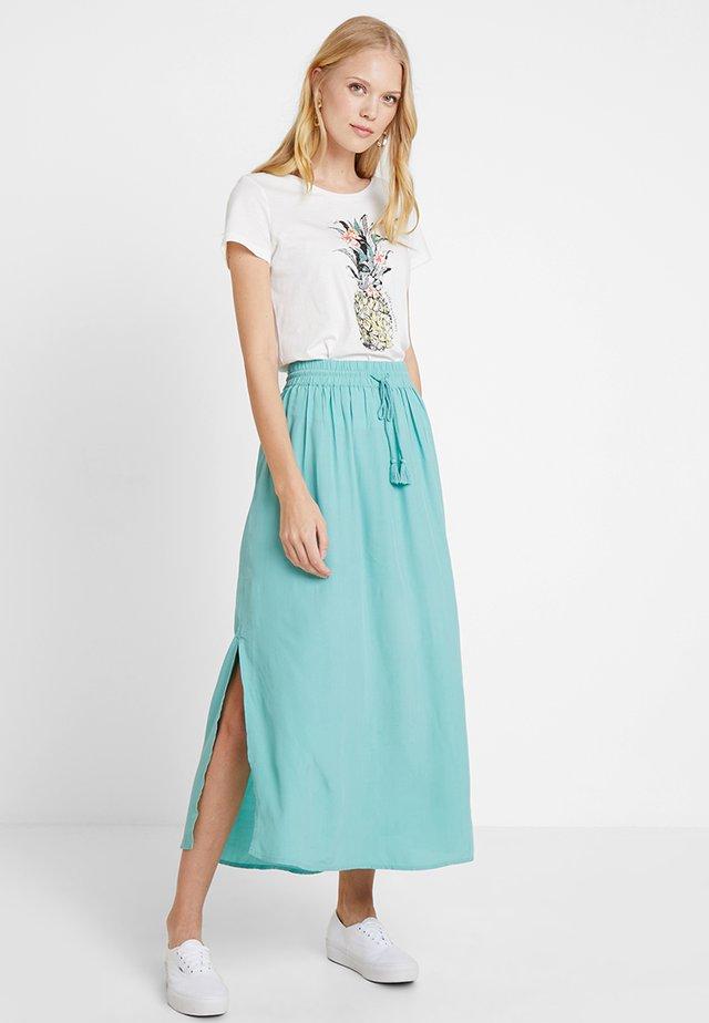 Maxi skirt - canton green