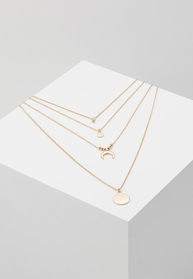 ONLLIZZA 4 CHAIN NECKLACE  - Kaulakoru - gold-coloured