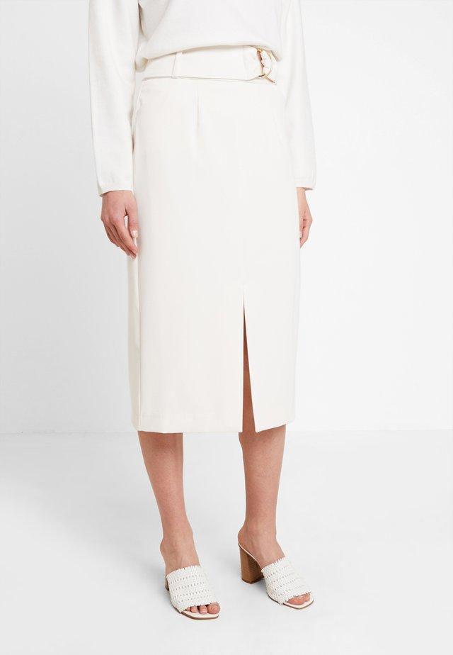 Pouzdrová sukně - vanilla