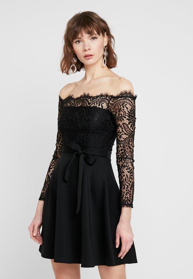 CHERRELL - Jersey dress - black