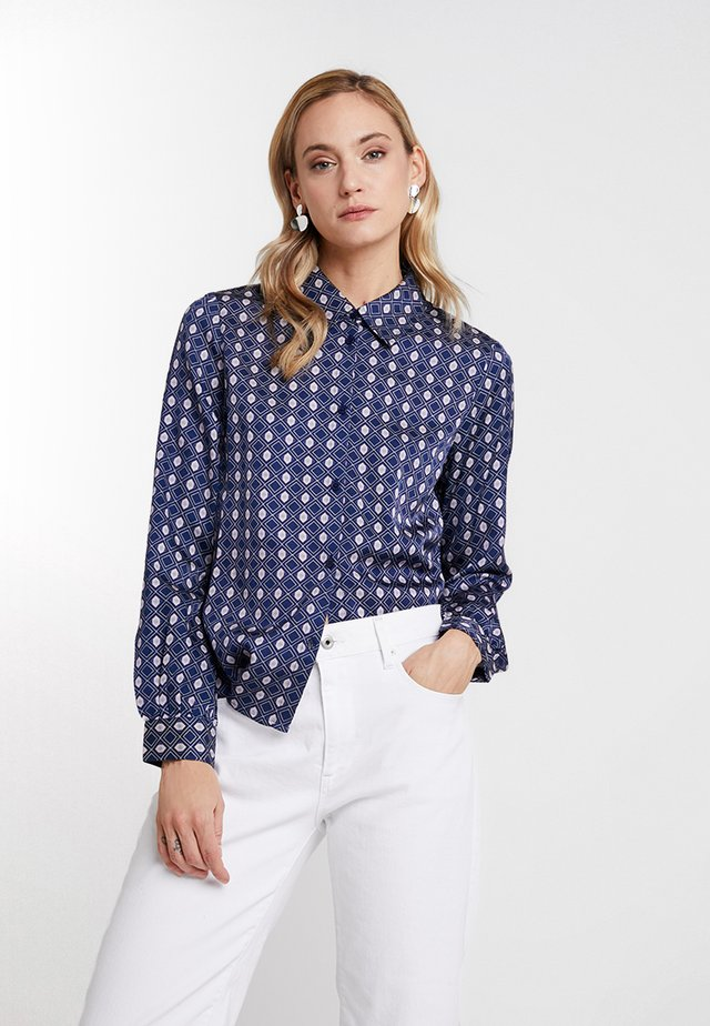 NICOLE FORMAL - Camicia - royal navy blue