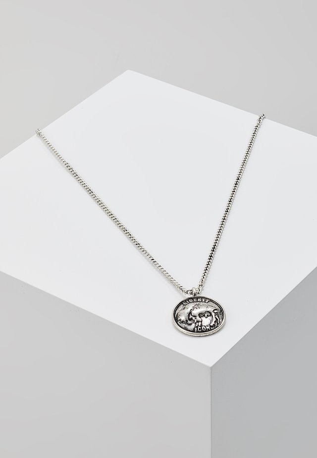 SCENE NOT HERD NECKLACE - Collar - silver-coloured