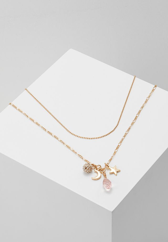 ONLHIRSE 2 CHAIN NECKLACE  - Collar - gold-coloured