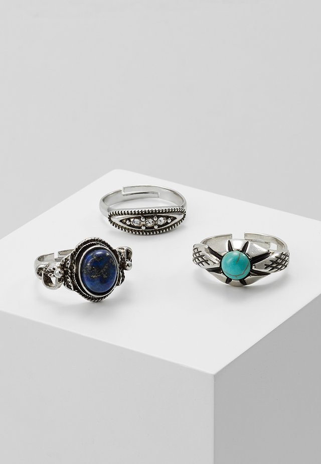 MIX ETHNIC RING 3 PACK - Ring - multicolor