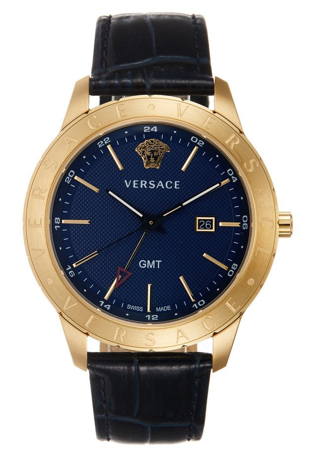 UNIVERS - Orologio - darkblue/gold-coloured