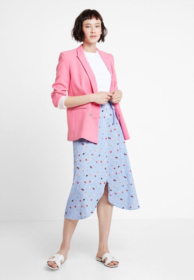Wrap skirt - light blue