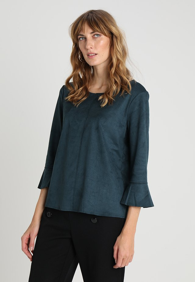 3/4 ARM - Langærmede T-shirts - dark teal