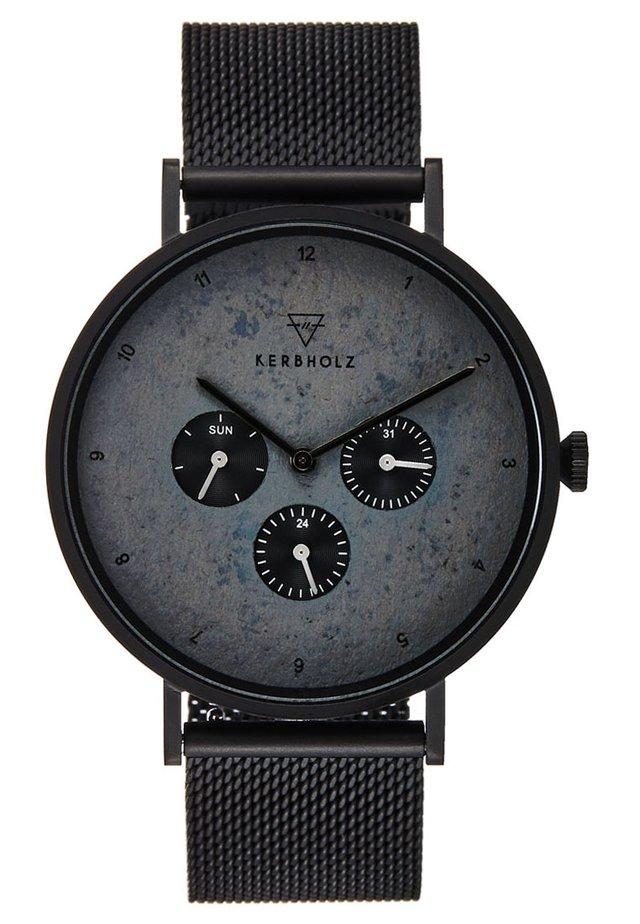 CASPAR - Chronograph - black/slate
