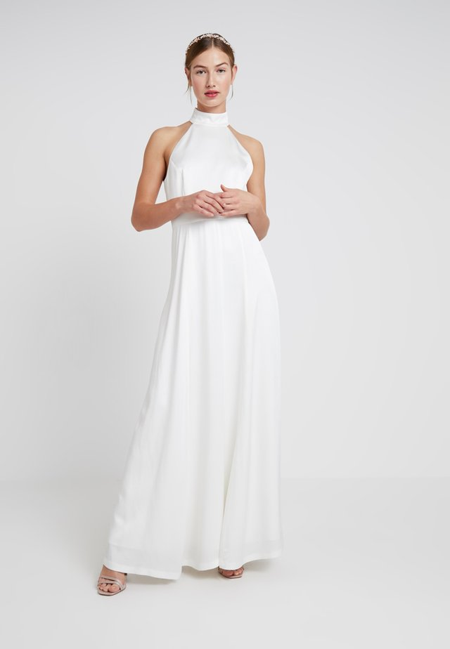 NECKHOLDER BRIDAL DRESS - Abito da sera - snow white
