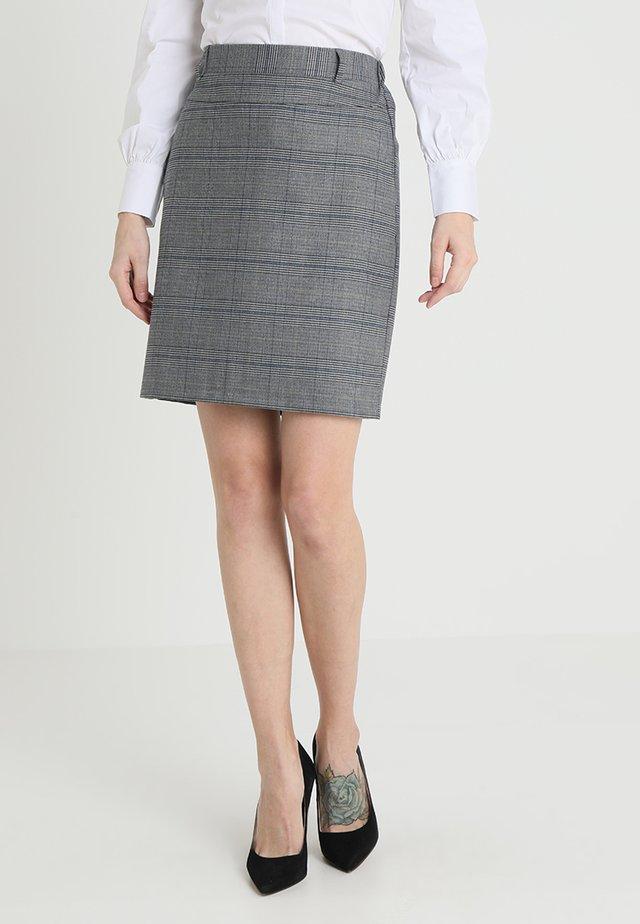 FIE NANCI SKIRT - Mini skirt - dark grey melange