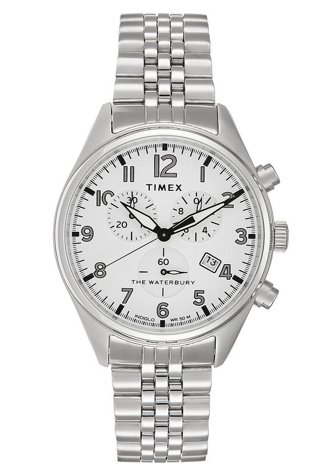 WATERBURY TRADITIONAL - Kronografklokke - silver-coloured