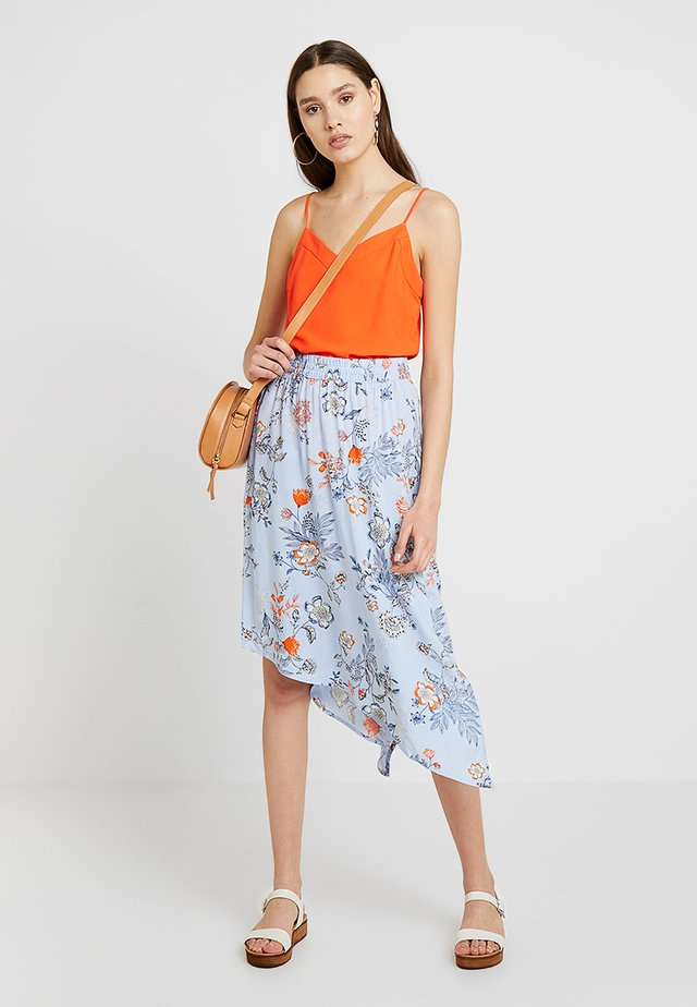 BYHAILEY SKIRT - A-line skirt - blue