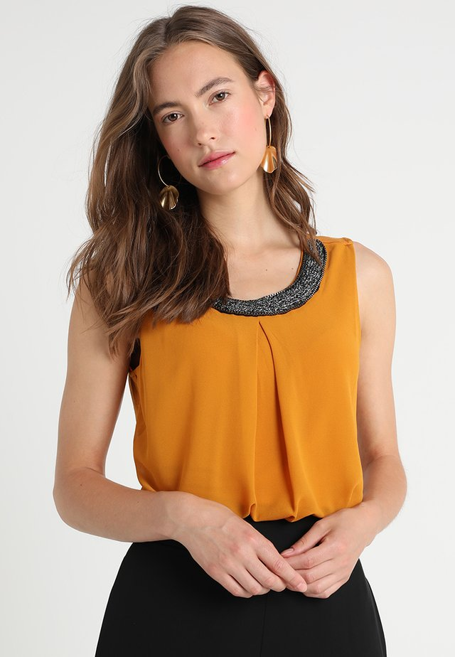Blouse - mustard yellow