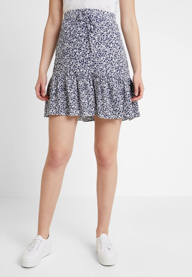 ESTHER SKIRT - A-line skirt - blue