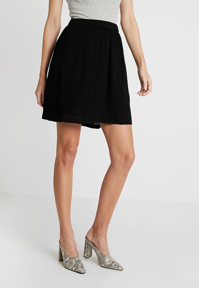 KADALUZ ANNA SKIRT - A-line skirt - black deep