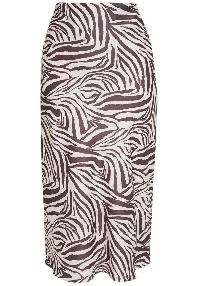 ZEBRA SKIRT - Pencil skirt - beige/black