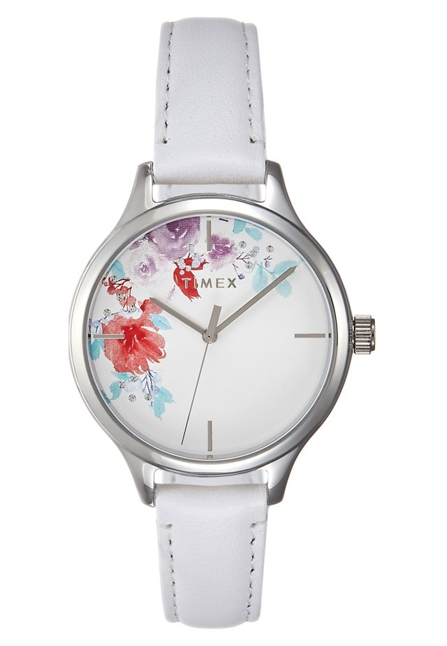 WOMEN'S TREND WITH SWAROVSKI STRAP DIAL - Rannekello - white