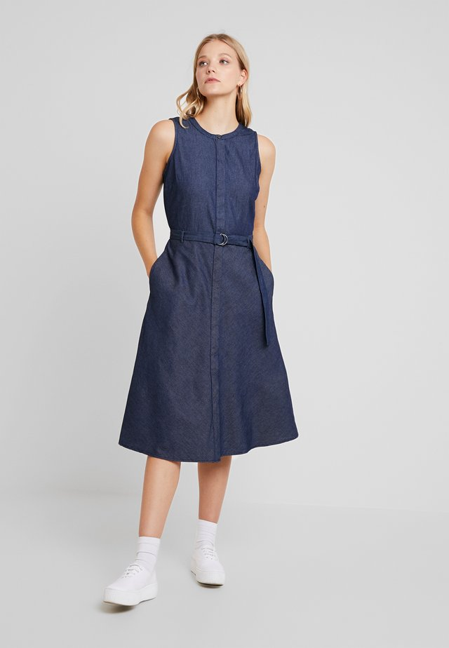 CHAMBRAY - Maxi dress - blue